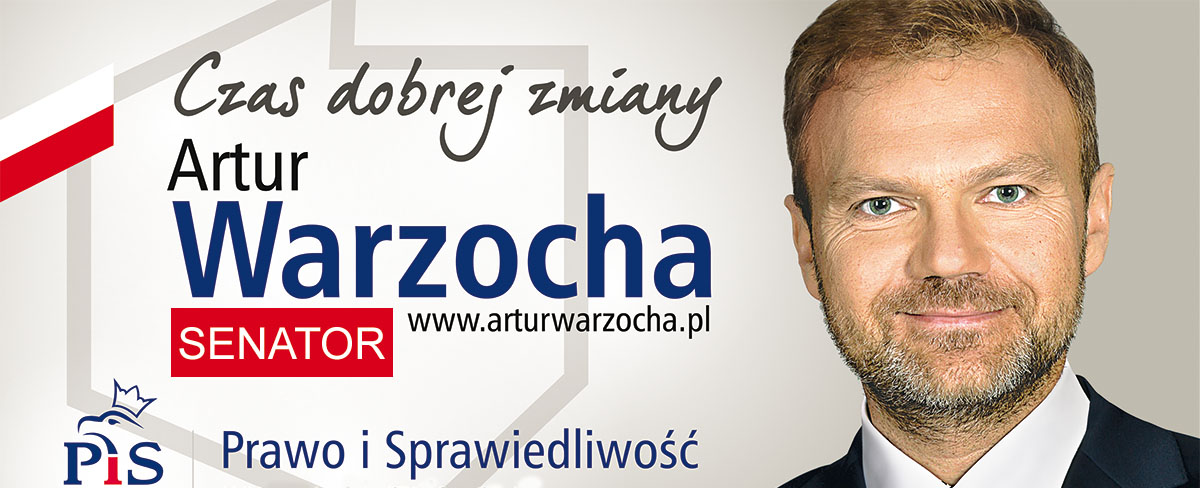 Artur Warzocha - Senator Rzeczypospolitej Polskiej